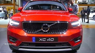 2018 Volvo XC40 T5 AWD -Exterior And Interior Walkaround - LA Auto Show 2017