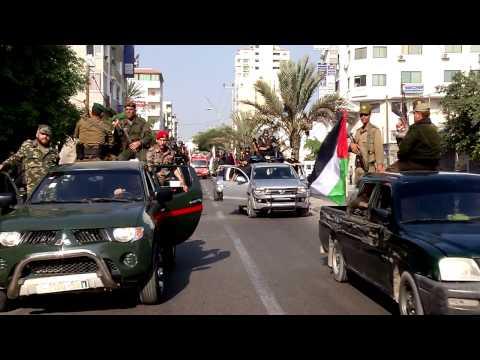 مسير التحرير في ذكرى حجارة السجيل ... محافظة غزة