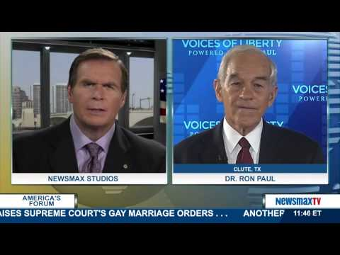 government - Former presidential candidate and former Congressman from Texas talks about the government's handling of the Ebola crisis and the upcoming midterm elections.