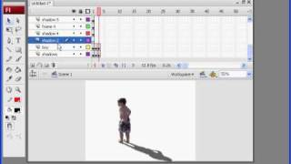 Video to Photoshop to Flash: Tutorial 11
