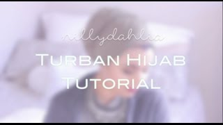 Turban Hijab Tutorial (Video)