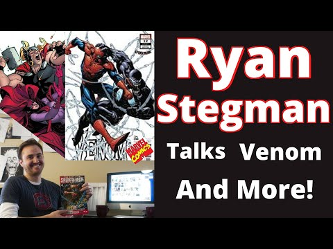 Ryan Stegman Talks Venom, Art, Working with Donny Cates, and more.