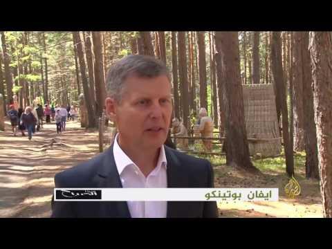 العرب اليوم - شاهد: افتتاح حديقة للمنحوتات الخشبية في سيبيريا
