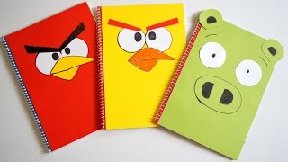 Thanks so much for watching and I hope you enjoyed!SUB please: http://www.youtube.com/c/TeenLifesBeautifulToday I show you How to make Easy cute Angry Bird notebook covers at home?Heute zeige ich Ihnen, wie Sie einfach niedlich Notebook deckt zu Hause?Aujourd'hui je vous montrer comment faire facilement portable mignon couvre à la maison?