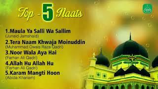 Video Top 5 Naats Collection || Nonstop Best Naat Sharif || Mp3 Naat || Naats Islamic MP3, 3GP, MP4, WEBM, AVI, FLV Desember 2018
