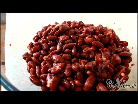 Tips And Ideas About Cooking Red Kidney Beans | Chef Ricardo Cooking