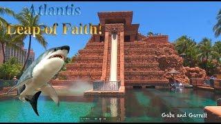 Video Atlantis Leap of Faith Water Slide - Gabe and Garrett Go To The Bahamas! MP3, 3GP, MP4, WEBM, AVI, FLV Juni 2018