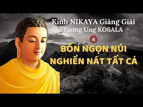 Kinh NIKAYA Giảng Giải - Tương Ưng KOSALA 8 - Bốn Ngọn Núi Nghiền Nát Tất Cả