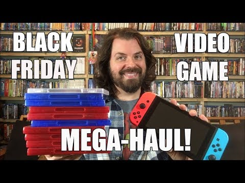 Black Friday Video Game MEGA Haul!