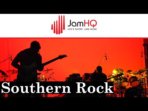 Southern Rock Ballad Guitar Jam Track in E Major Pentatonic – Marooned