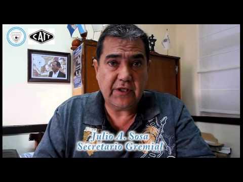 2- INFORME JULIO A. SOSA S/ PARITARIAS/CATT/ITF 2016