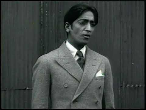 Krishnamurti – Short interview in New York City, 1928