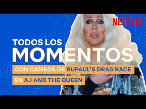 CAMEOS de RuPaul's Drag Race en AJ and the Queen | Netflix España