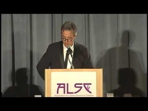 """Chris Raschka give his Caldecott Award Speech for """"A Ball for Daisy"""""""