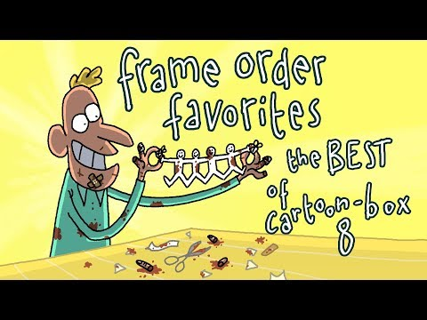 Frame Order Favorites | The BEST of CARTOON BOX 8