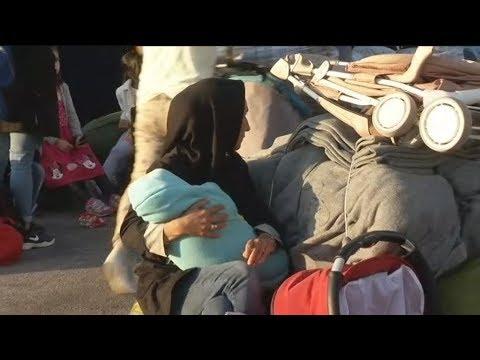 Δύο δρομολόγια με 406 πρόσφυγες κατέπλευσαν στο λιμάνι του Πειραιά