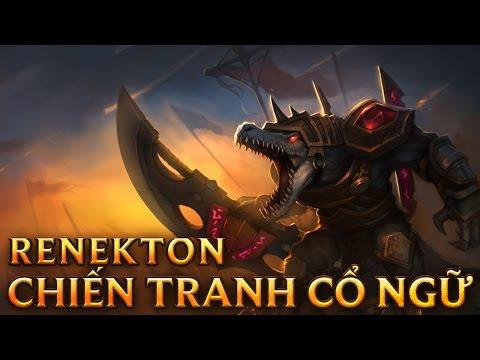 Renekton Chiến Tranh Cổ Ngữ - Rune Wars Renekton