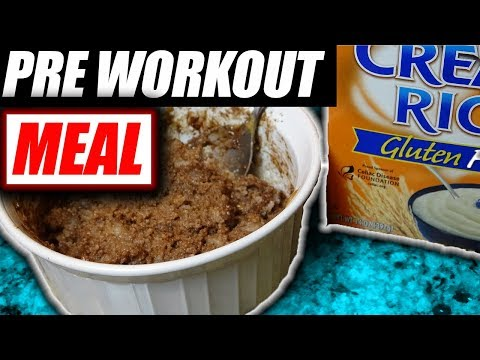 Cream Of Rice: Pre Workout Concoction Bowl Recipe