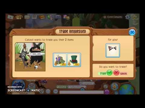 Animal Jam | Trade Attempts For Cat Ears