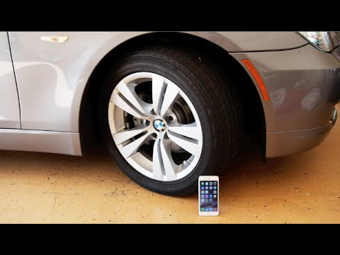 resisterà l'iphone 6 plus a questa bmw?