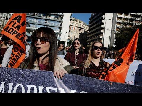 Verhasste Sparpolitik: Generalstreik in Griechenland