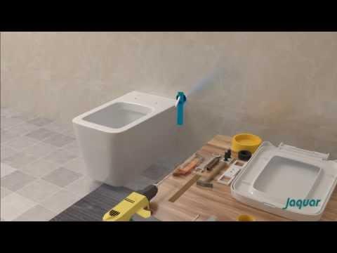 Jaquar Wall Hung WC Installation