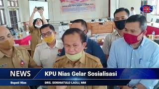 KPU Nias Gelar Sosialisasi (HARIANSIBER TV)