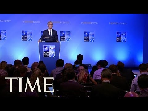 NATO Secretary General Responds To Trump's Criticism   TIME