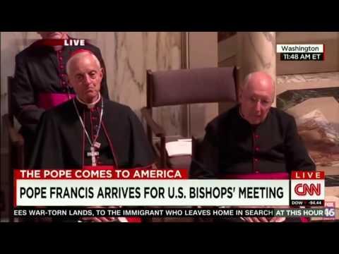 """papa francesco stupisce tutti i vescovi con la sua """"magia""""!!!"""