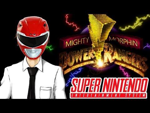 Tekking Plays: Mighty Morphin' Power Rangers (SNES)