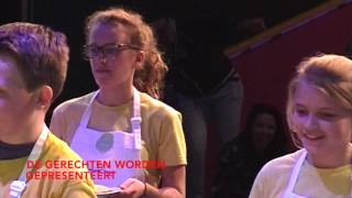 Video: samenvatting finale Junior Kook Chef 2016!