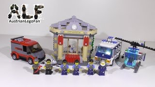 Lego City 60008 Museum Break In / Museums Raub - Lego Speed Build Review