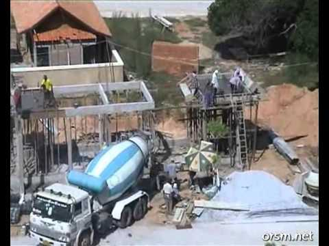 Africká betonárka 2
