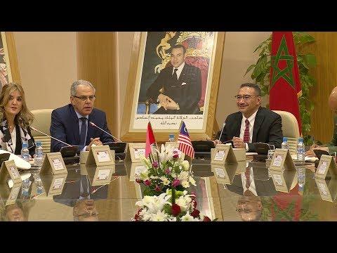 يتعليمات ملكية ..لوديي يستقبل وزير الدفاع الماليزي