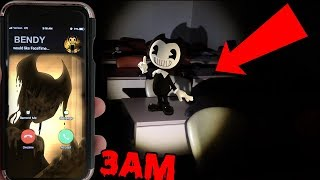 (BENDY IS HERE!) CALLING BENDY NIGHTMARE RUN ON FACETIME AT 3AM (INK FOUND) | BENDY GHOST APPEARS!