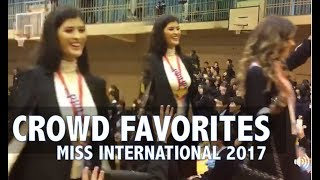 Video Miss International 2017: CROWD FAVORITES - Who will be the Next Miss International? MP3, 3GP, MP4, WEBM, AVI, FLV November 2017