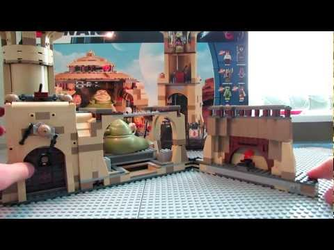 Lego star wars 9516 jabba s palace review lego star