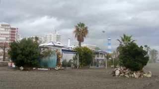 Torre del Mar, zona más afectada por el temporal de levante en la Costa del Sol