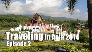 Suab Hmong TRAVEL in ASIA 2014 Episode 2 - World Garden in ChiangMai, Thailand