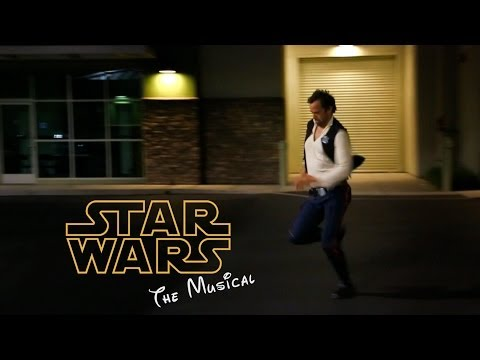 gsmaestro - Andrew Bowen (of MADtv fame) demonstrates how to run like Han Solo while behind the scenes of the Star Wars Musical. Star Wars Musical Coming June 17th, 2014...