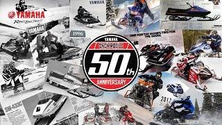 10. 50 Years of Yamaha Snowmobiles