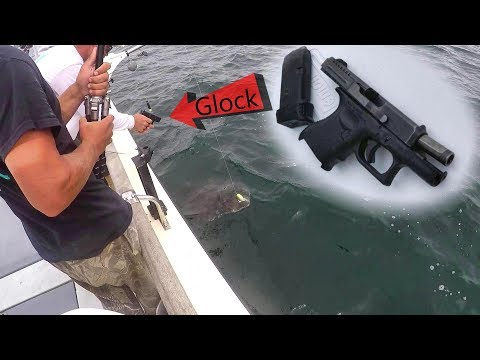 Video We had to shoot this HUGE fish for our safety (100 Pounder!) download in MP3, 3GP, MP4, WEBM, AVI, FLV January 2017
