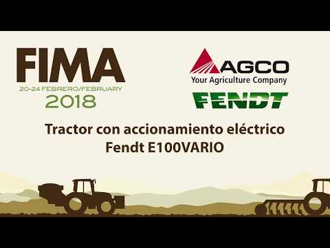 FIMA 2018 - TECHNICAL INNOVATION - AGCO FENDT - FE