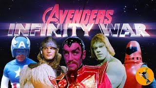 Avengers Infinity War Retro Trailer