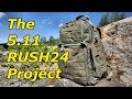 RUSH24 by 511 Tactical: My Ultimate Backpack Project (Part 1)