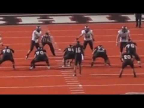 Brandon Kaufman 30 Yard Pass From Vernon Adams video.