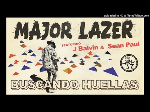 Major Lazer   Buscando Huellas (feat J Balvin  Sean Paul) Official Audio