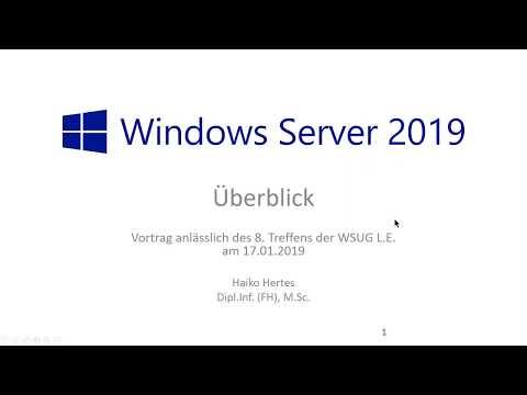 Windows Server 2019: Überblick und Neuerungen