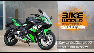 10. Kawasaki Ninja 650 First Ride Review