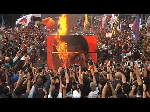 Φιλιππίνες: Συγκεντρώσεις κατά του προέδρου Ντουτέρτε